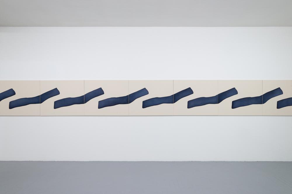 Installation view, Landon Metz, & , Galleria Massimo Minini, Brescia