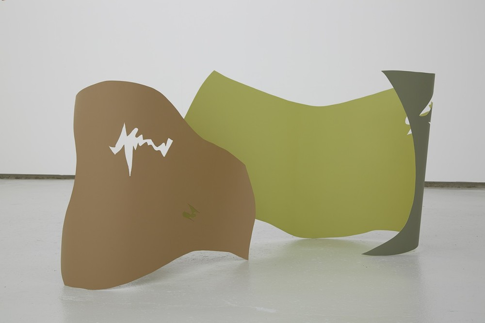 Installation view, Hanae Wilke,Conduit Slur, Kinman Gallery