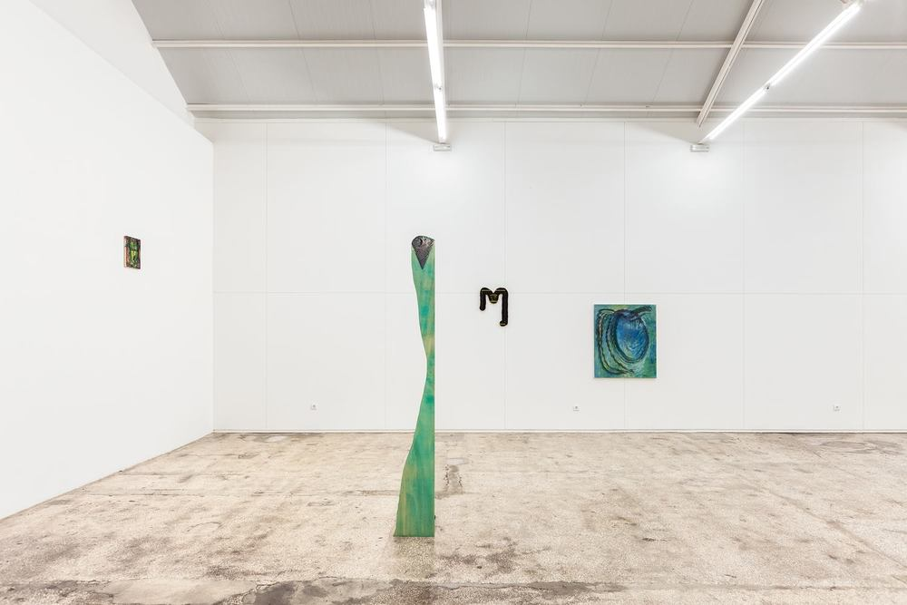 Installation view, Ana Manso and Pedro Henriques, Menthol, Ar Sólido