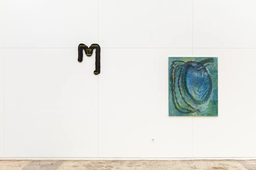 Installation view, Ana Manso and Pedro Henriques,  Menthol , Ar Sólido