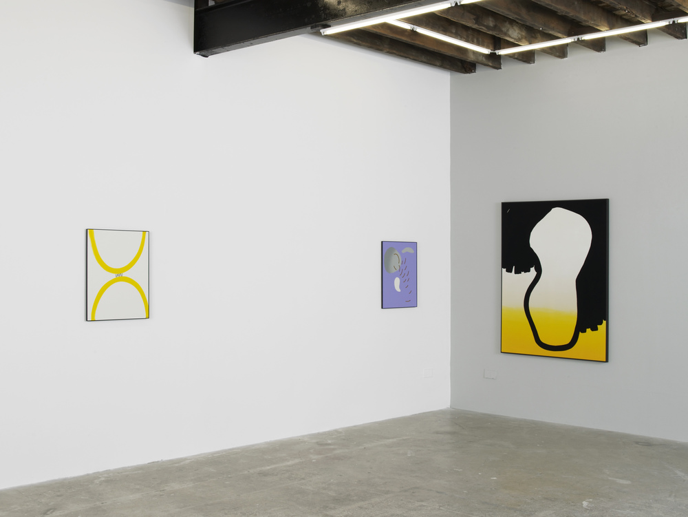 Installation view, Cornelia Baltes, Drunk Octopus wants to fight, Limoncello