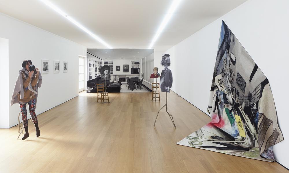 Goshka Macuga, Installation View,Galerie Rüdiger Schöttle