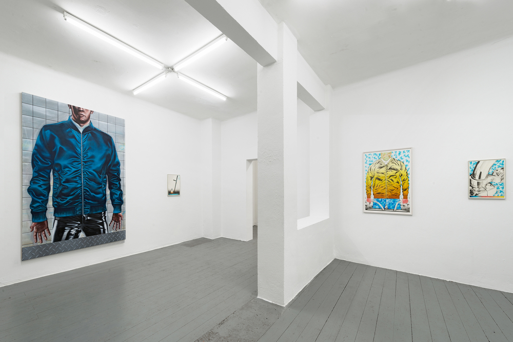 Installation view, Sebastian Burger, Birth of Serpents, Galerie Tobias Naehring