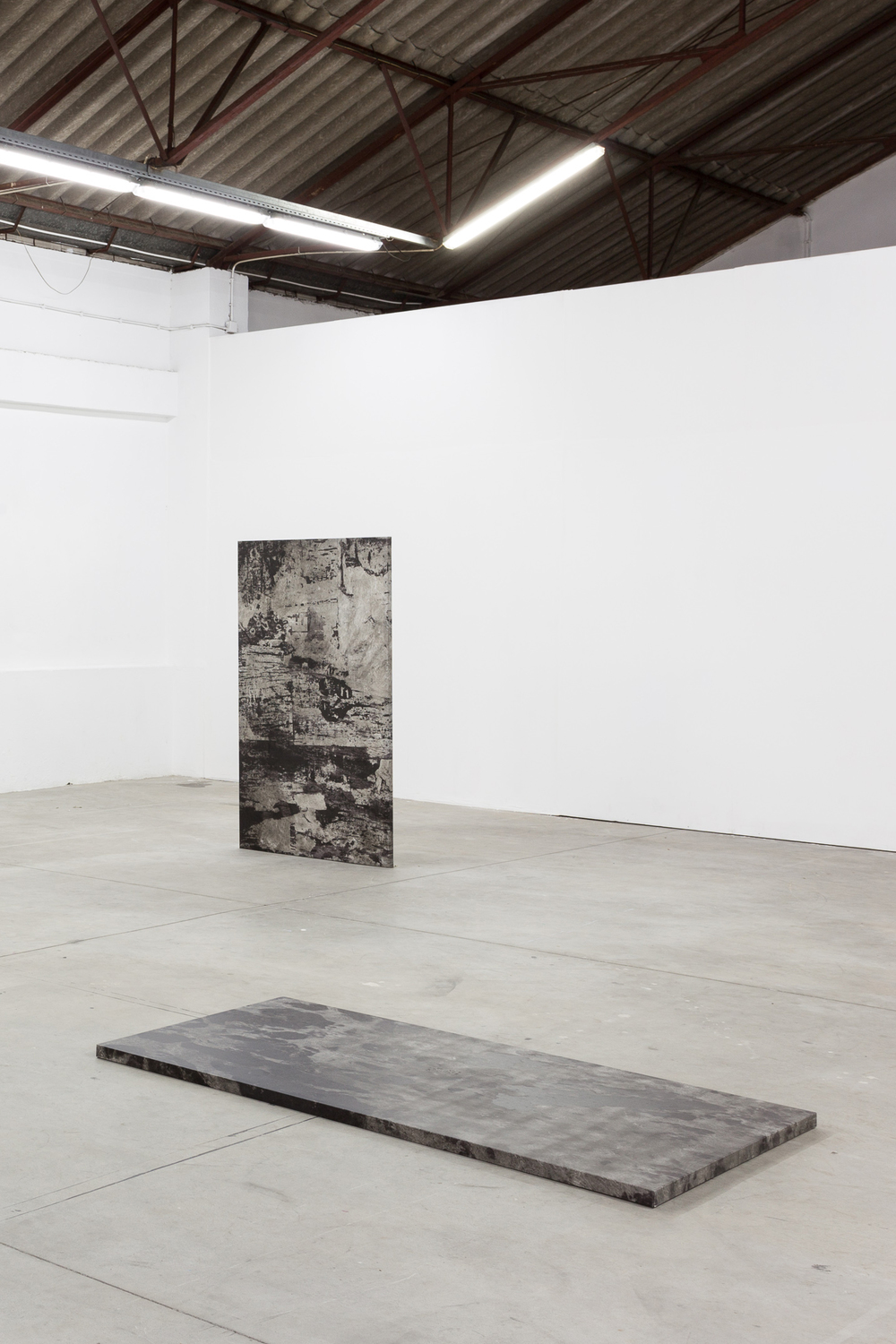 Installation view, Pedro Matos, Less Than Objects, Underdogs Gallery