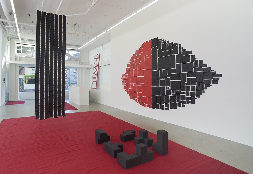 Installation view, from here to there,kurimanzutto travels to Jessica Silverman Gallery