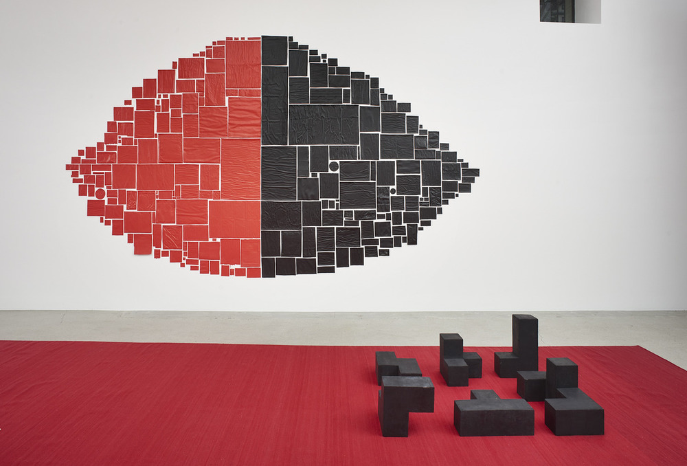 Installation view,from here to there,kurimanzutto travels to Jessica Silverman Gallery