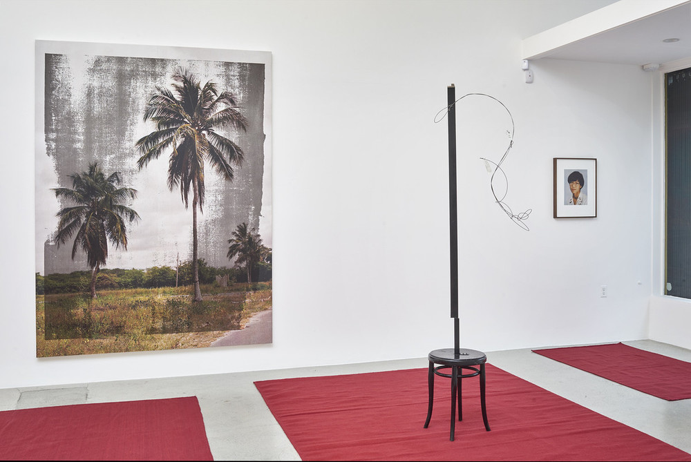 Installation view, from here to there, kurimanzutto travels to Jessica Silverman Gallery