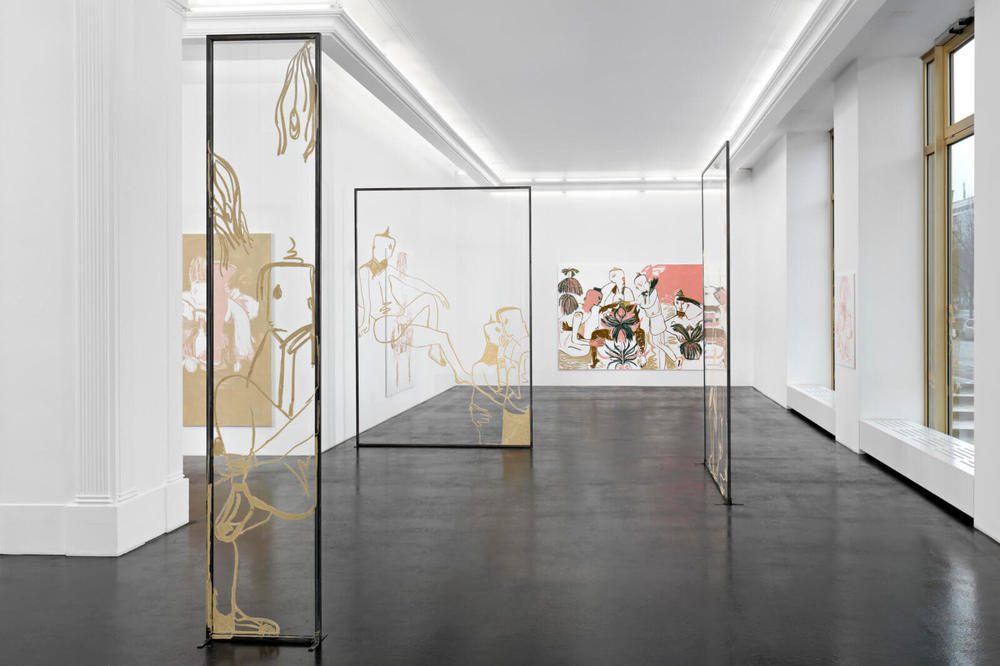 Installation view, Melike Kara, In Your Presence, Peres Projects