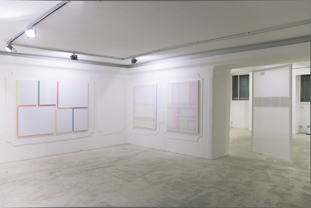 Installation view, Patric Sandri,  Untitled (to) , Lisabird Contemporary
