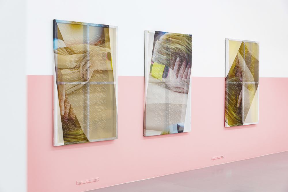 Installation view, Adrian Dan, Muscle Breach, Suprainfinit