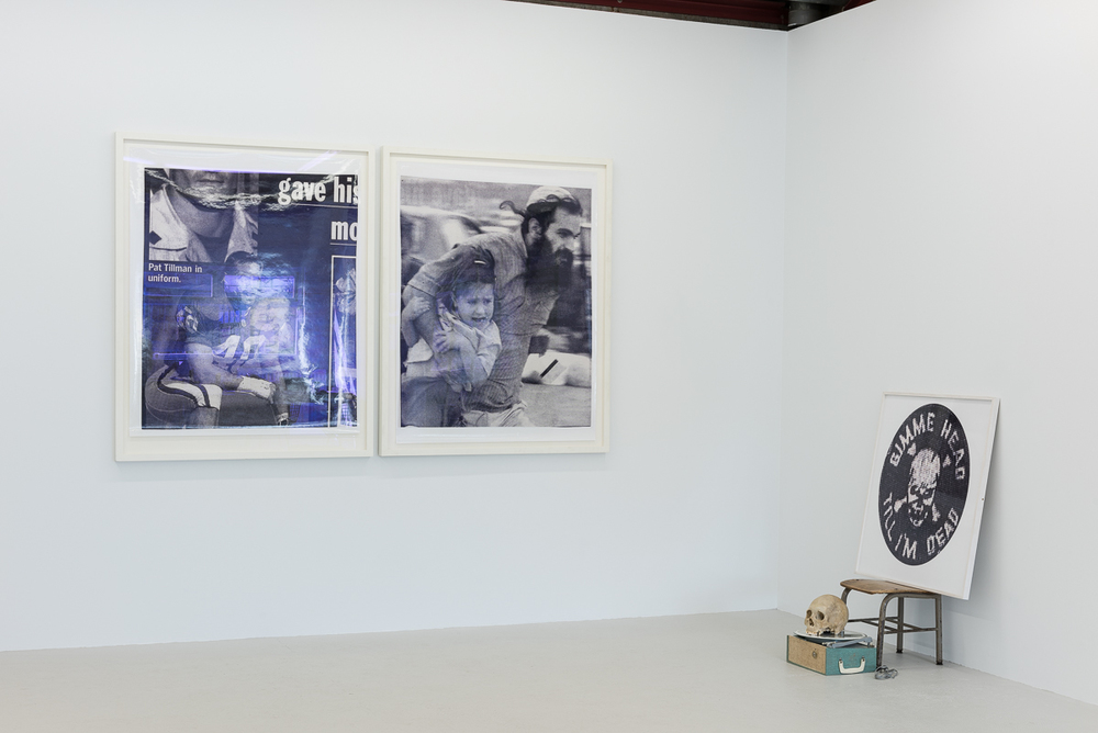 Installation view, Dash Snow,  Hello, This is Dash , Annka Kultys Gallery
