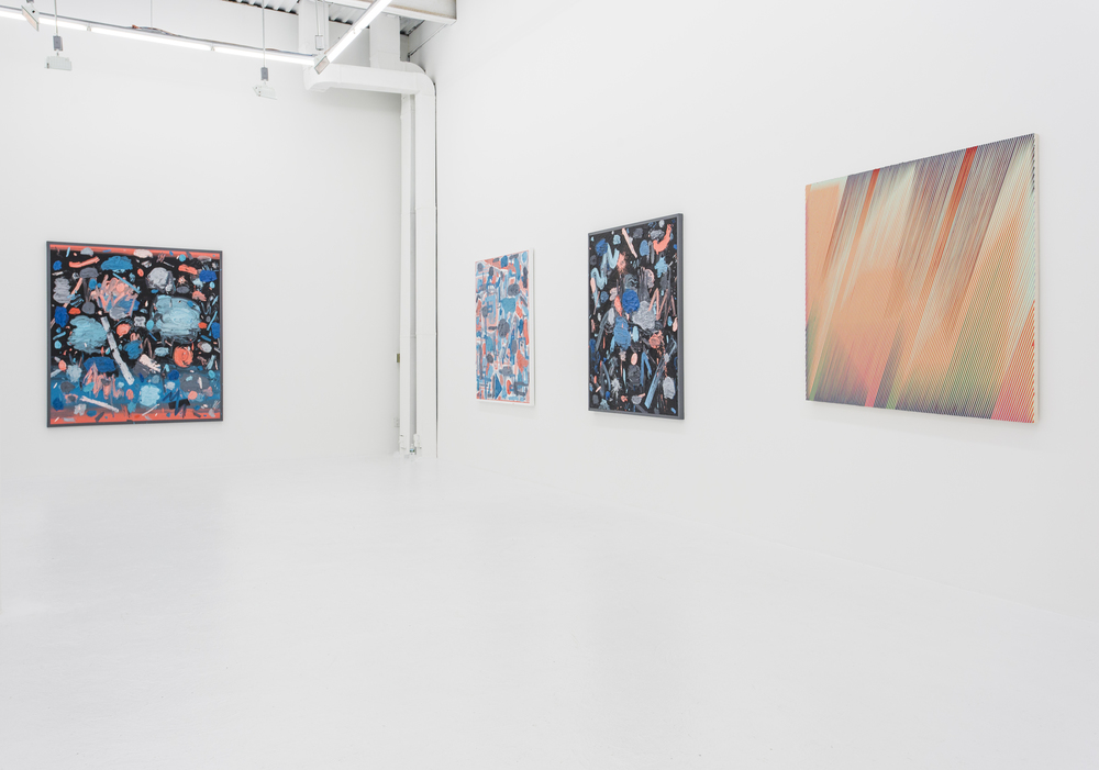 Installation view,  Two on Two,  The Hole NYC