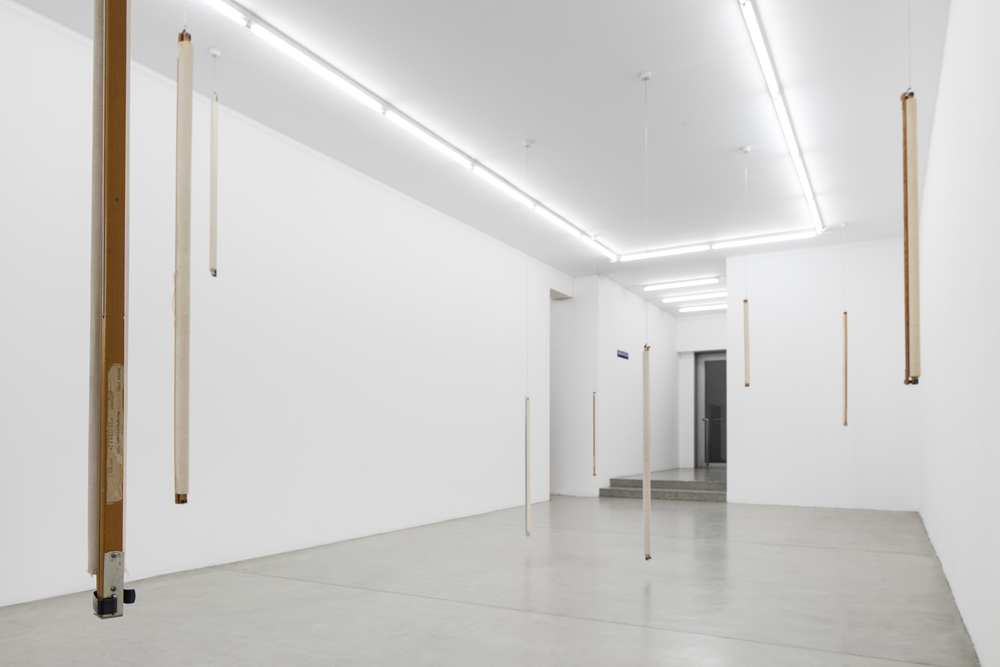 Installation view, Runo Lagomarsino, West Is Everywhere You Look, Francesca Minini