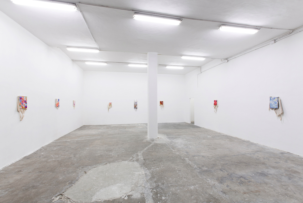 Installation view, Paul Branca, Totes, Giorgio Galotti