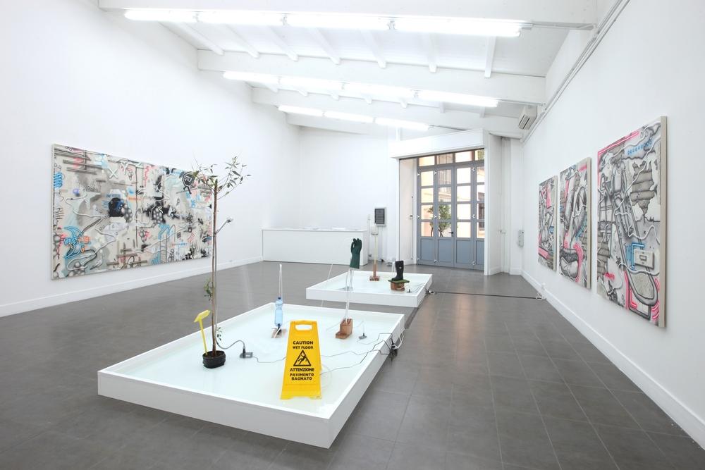 Installation view, Josh Reames,Wet & Wild, Brand New Gallery