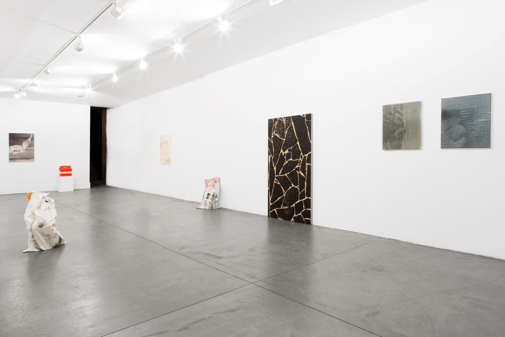 Installation view, Aujourd'hui je dis oui, Galeria Boavista