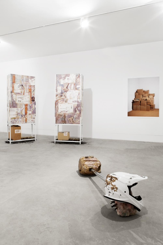 Installation view,Aujourd'hui je dis oui, Galeria Boavista