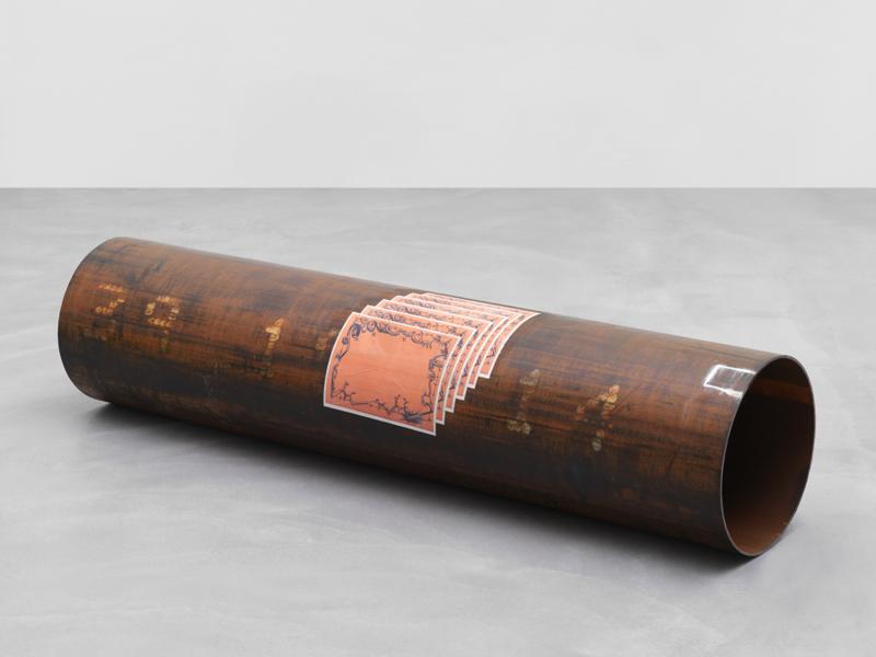 Matias Faldbakken, Steel Pipe (Adams), 2016