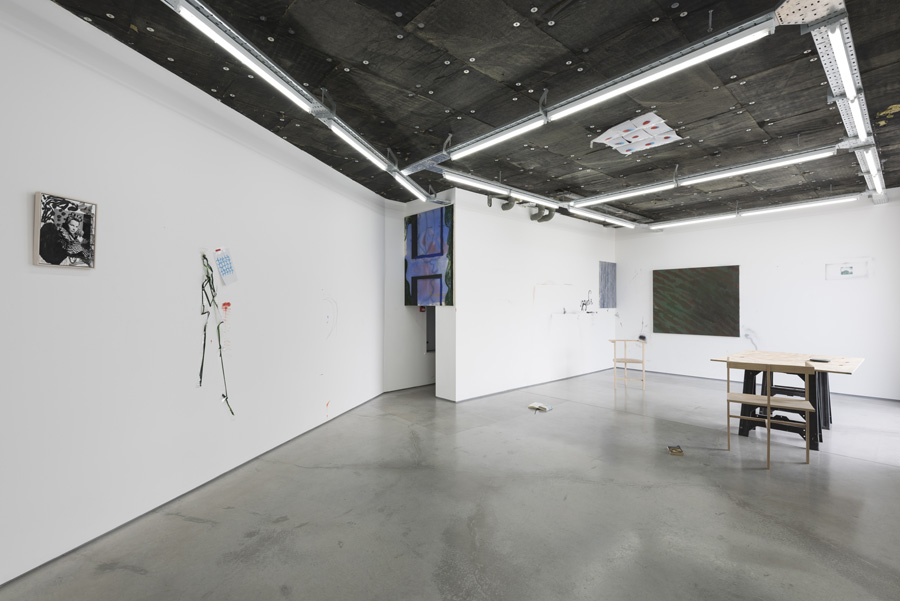 Installation view, The Fool, Rod Barton