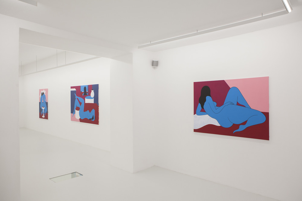 Installation view, Parra,  I can´t look at your face anymore , Ruttkowski68
