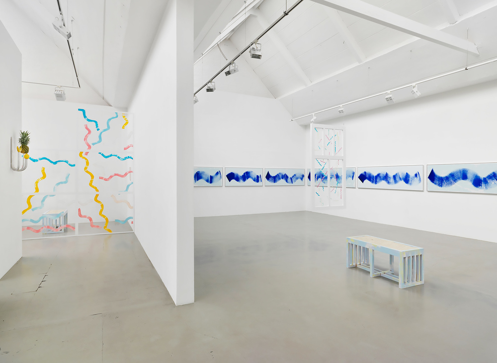 Installation view, Diango Hernández, Marina, Galerie Barbara Thumm