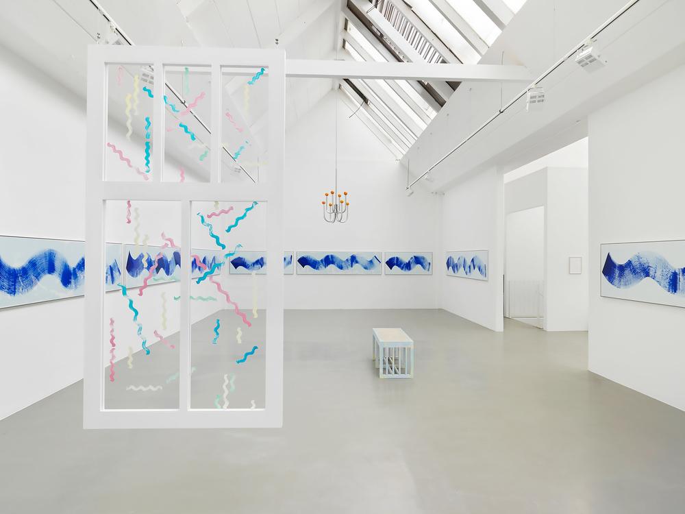 Installation view, Diango Hernández,Marina, Galerie Barbara Thumm