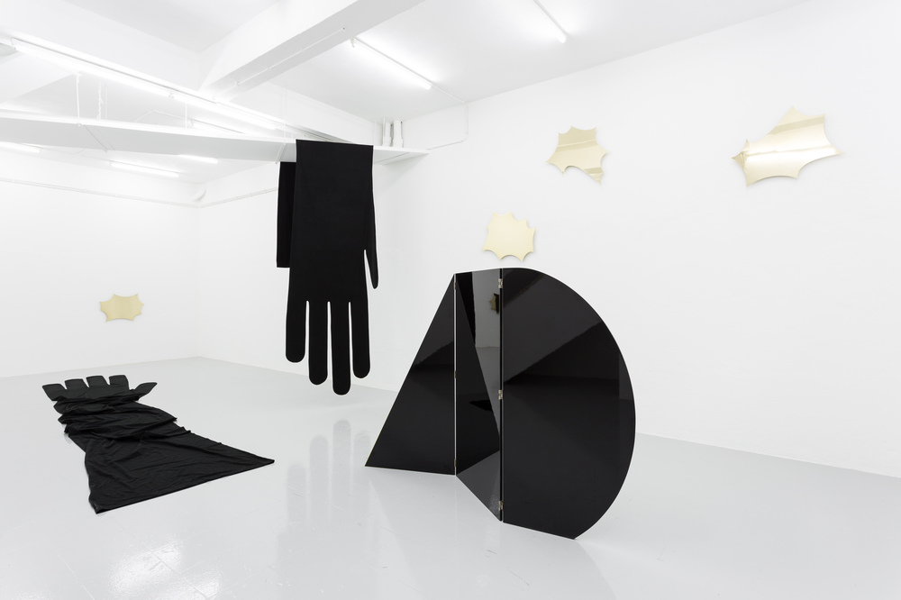 Installation view, Jacopo Miliani, A Slow Dance Without Name, Kunsthalle Lissabon
