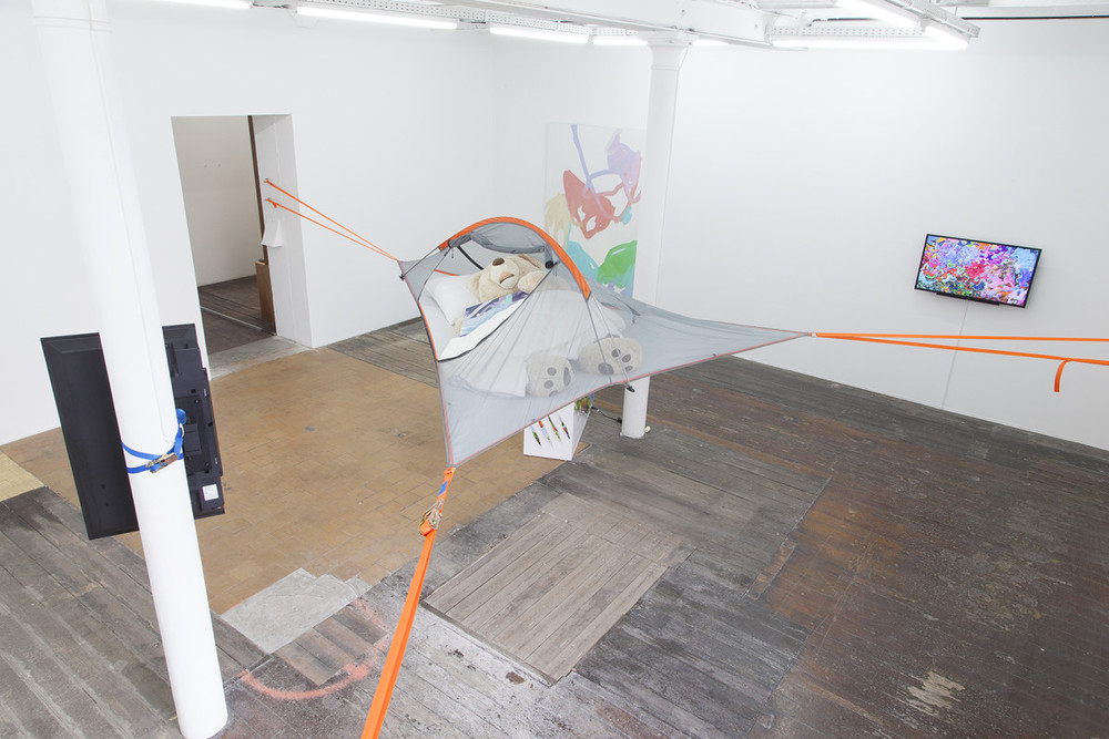 Installation view, Michael Manning, I Hate Mondays, MonChéri