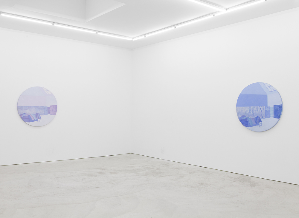 Installation view,  Richard Osterweil / Indrė Šerpytytė / Achraf Touloub , TO______BRIDGES______