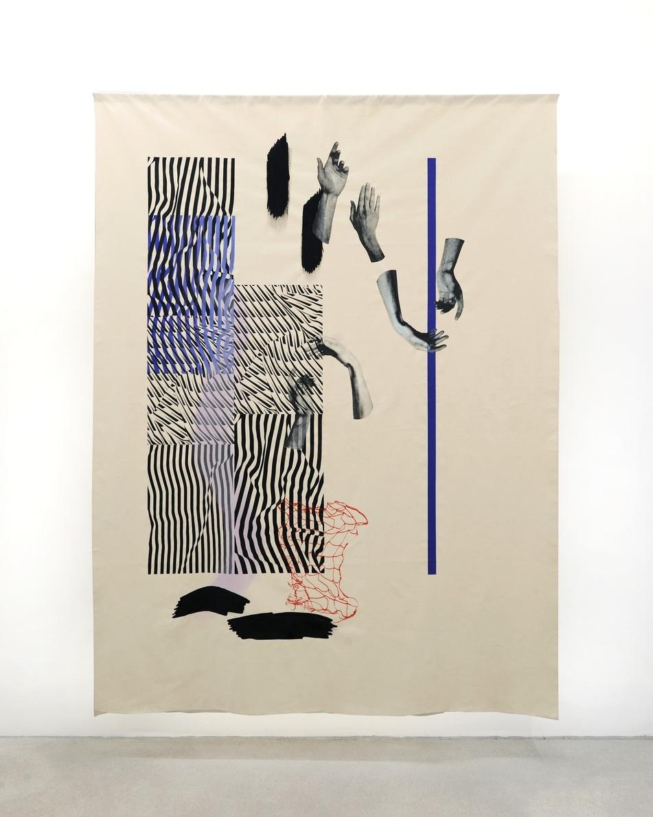 Installation view, Fay Nicolson, UN MAKE ME , Galerie Rolando Anselmi