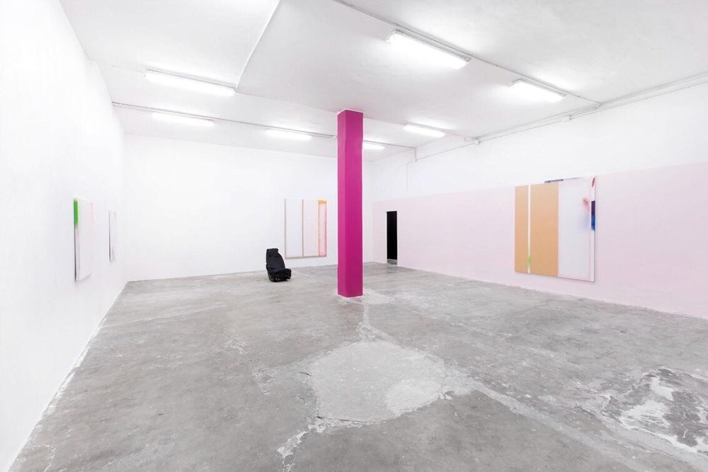 Installation view, Thomas Kratz, Salve, Giorgio Galotti