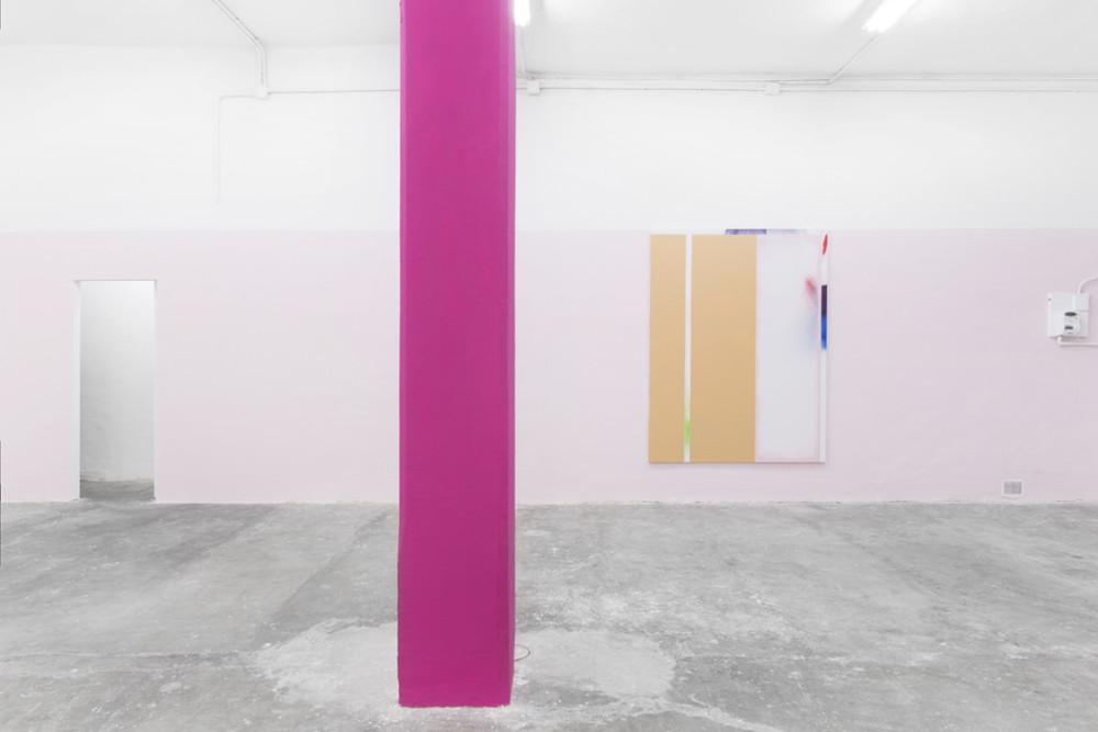 Installation view, Thomas Kratz,Salve, Giorgio Galotti