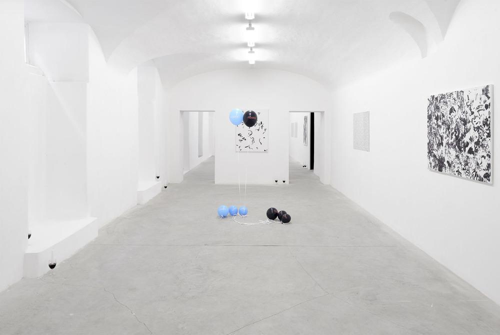 Installation view, Fabio Marco Pirovino and Sam Porritt, Hidden In Plain Sight, Frutta