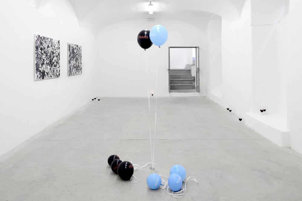 Installation view, Fabio Marco Pirovino and Sam Porritt,Hidden In Plain Sight, Frutta