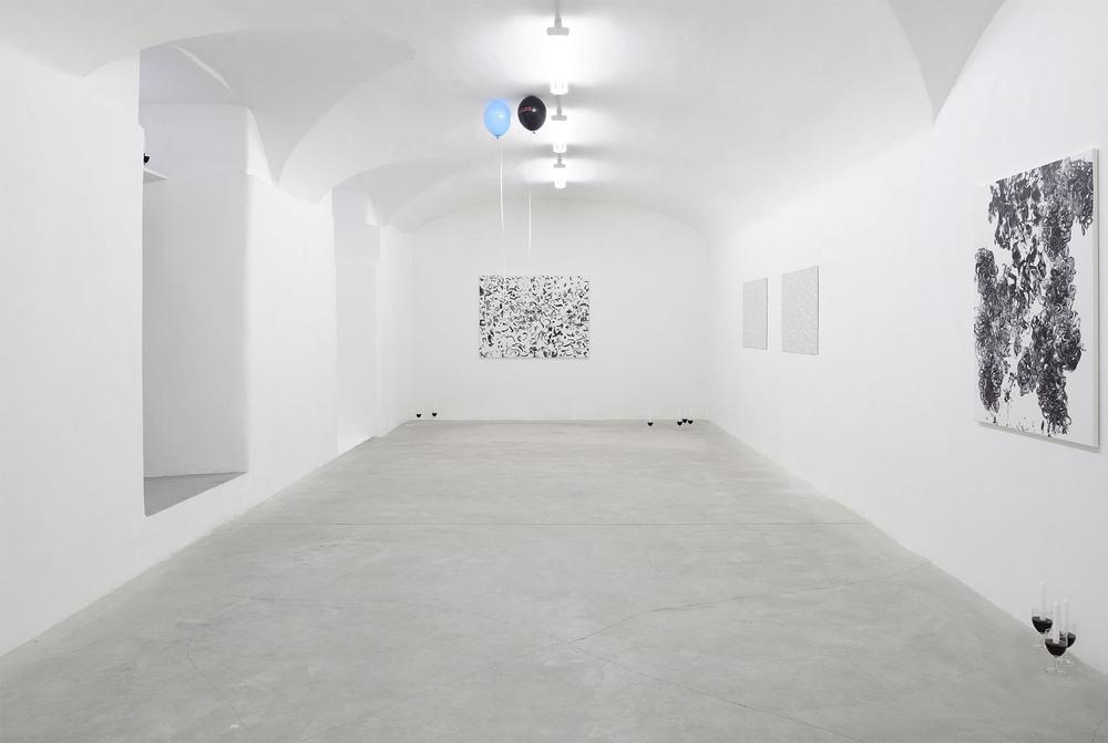 Installation view, Fabio Marco Pirovino and Sam Porritt, Hidden In Plain Sight , Frutta