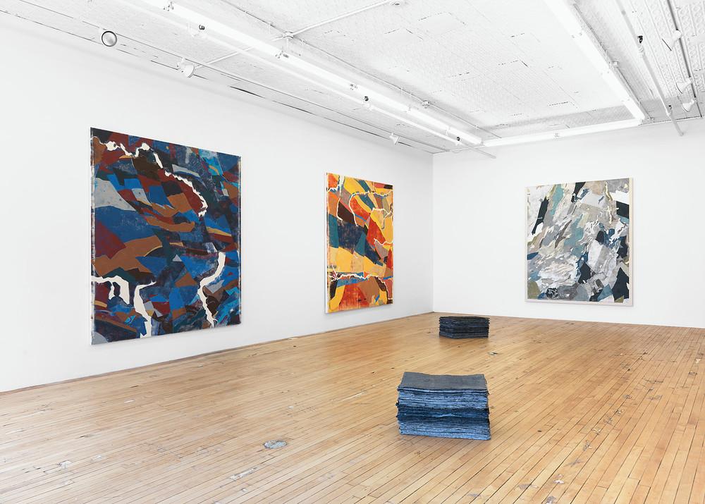 Installation view, Kour Pour, Onnagata, Feuer/Mesler