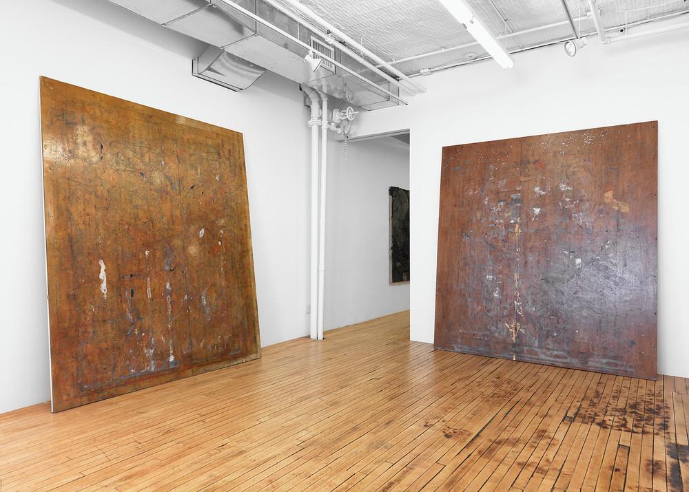 Installation view, Kour Pour,Onnagata, Feuer/Mesler