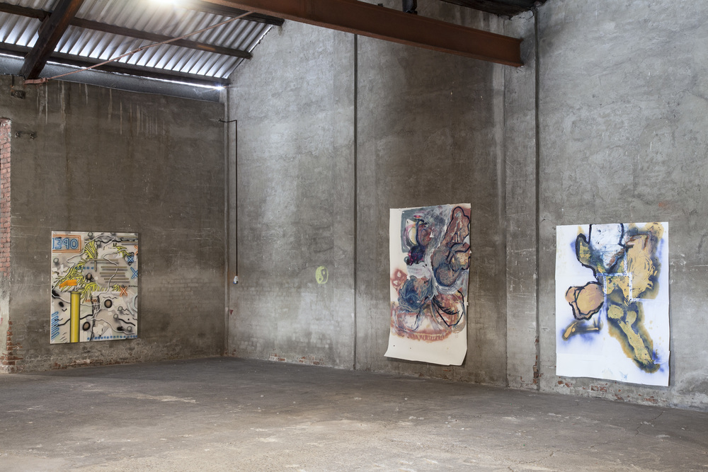 Installation view, In The Depth Of The Surface, Fabbrica Orobia 15