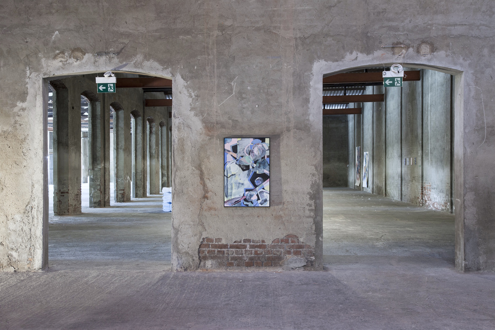 Installation view,  In The Depth Of The Surface , Fabbrica Orobia 15