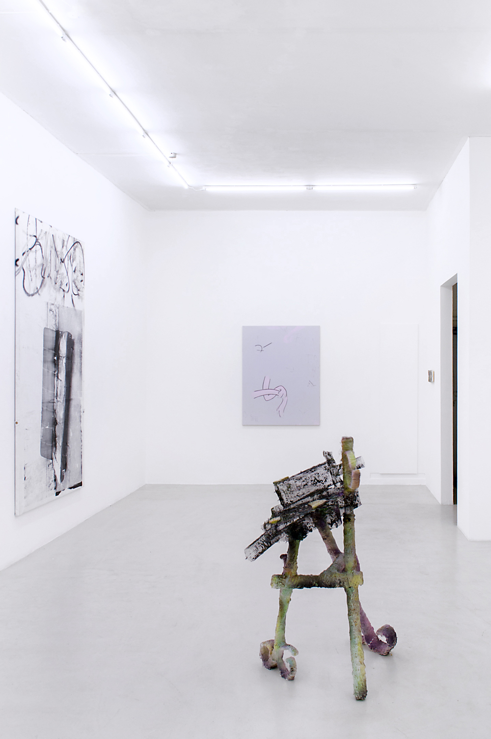 Installation view, Beau Lauss, Last Resort