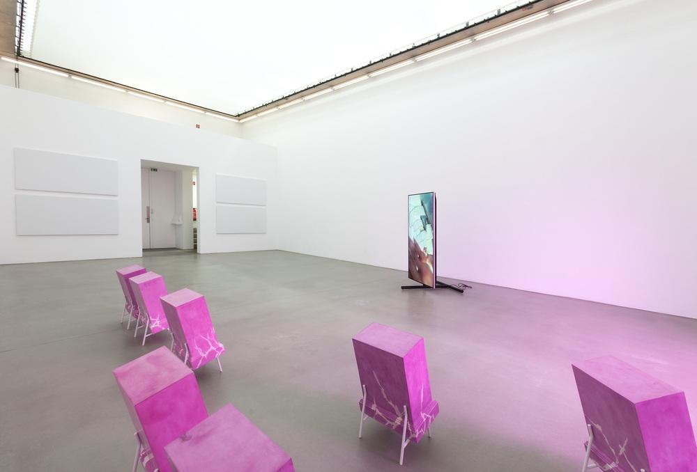 Installation view,Shahryar Nashat, Model Malady, Portikus
