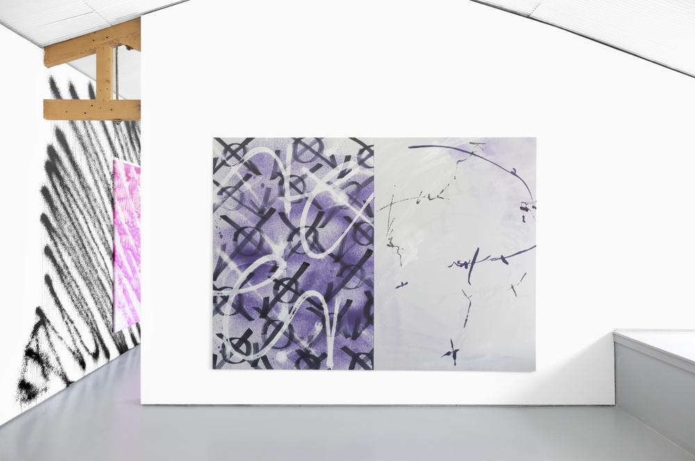 Installation view, Ziggy Grudzinskas,Cognitive Dissonance, Tristian Koenig