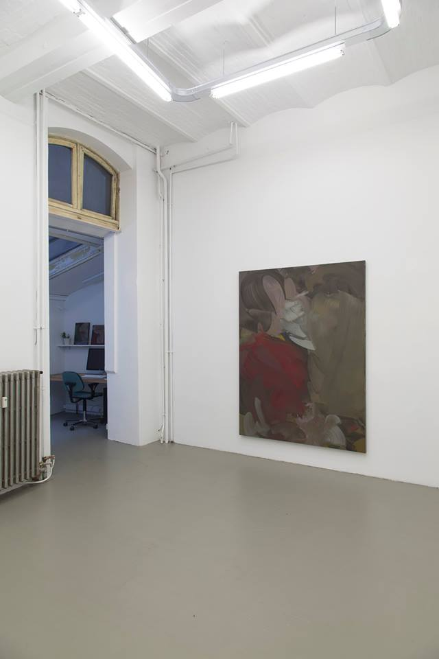 Installation view, Erwin Lawlor,Paintings, Rod Barton