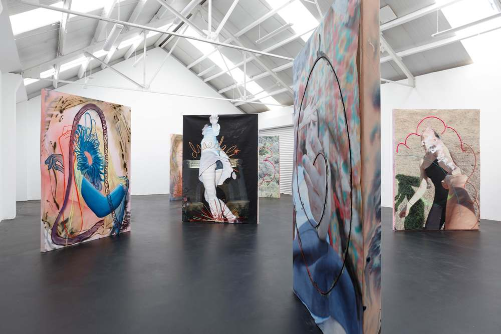 Installation view, Nora Berman,  Charm , Ellis King