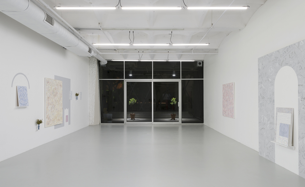 Installation view,  For Ammonis, Who Died at 29, in 610,  ASHES/ASHES