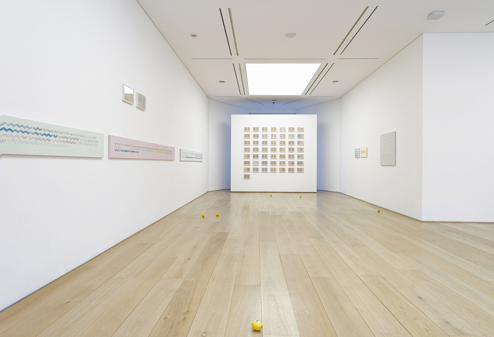 Installation view, Diango Hernández,  The Book of Waves , Marlborough Contemporary (London)