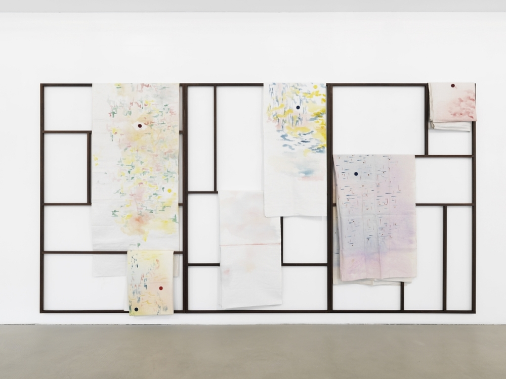 Installation view,  Komplette Zimmer , Capitain Petzel