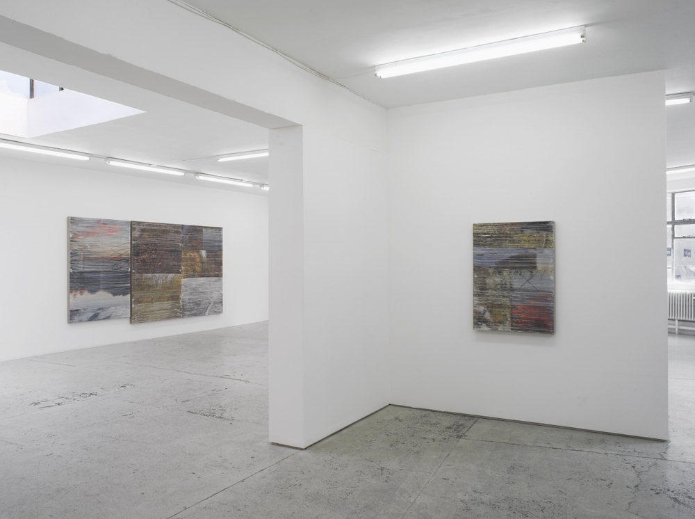 Installation view, Summer Learning Loss, Laura Bartlett Gallery