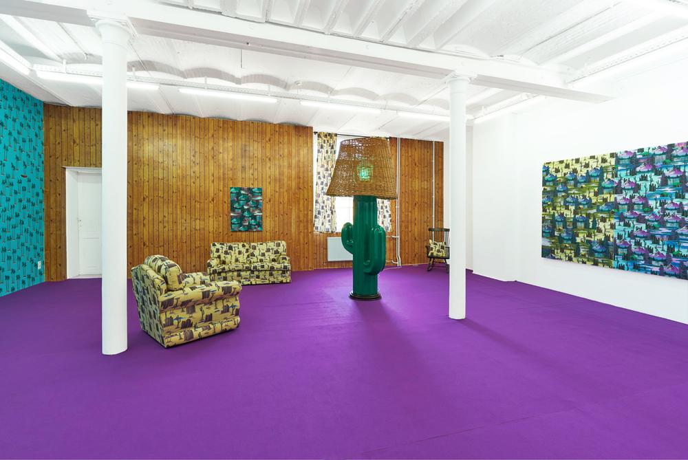 Installation view, Neil Raitt, Landscapetual, Mon Chéri