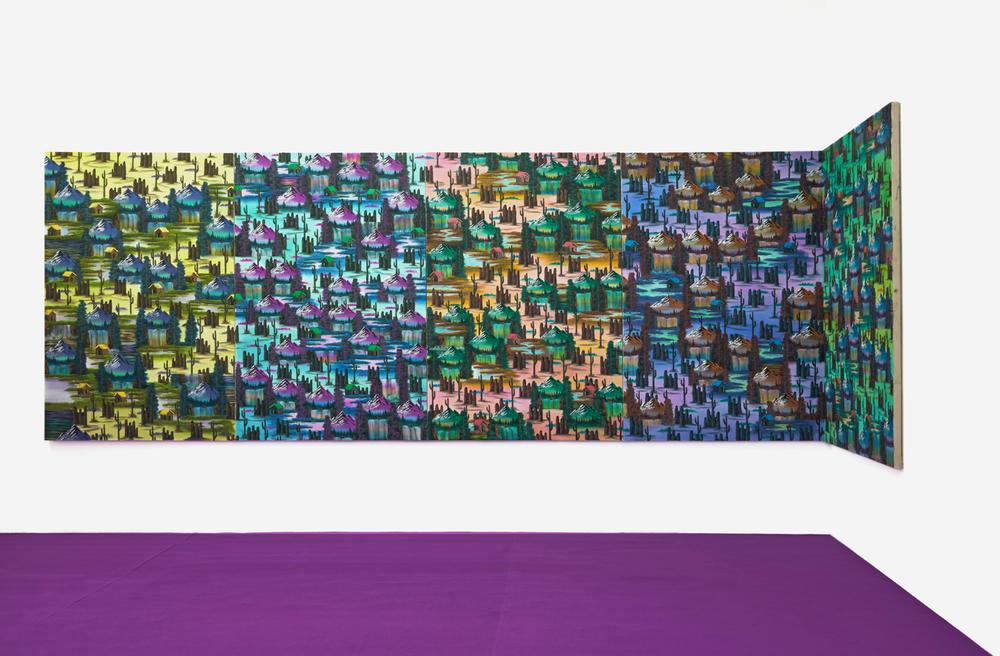 Installation view, Neil Raitt,Landscapetual, Mon Chéri
